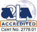 A2LA Acredited Logo